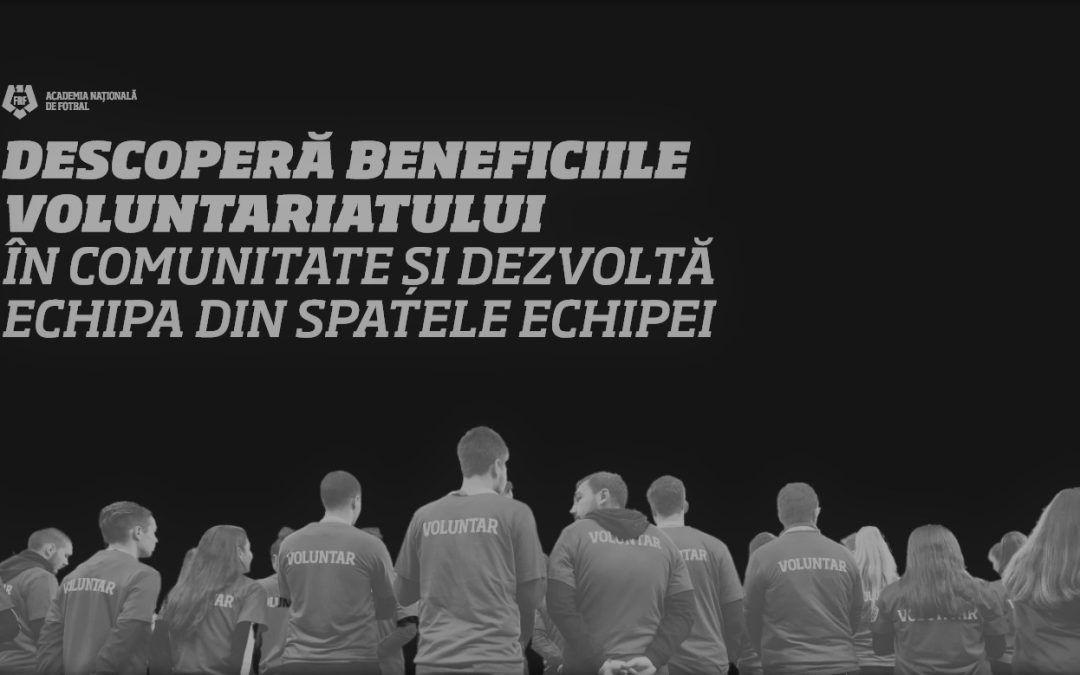 Managementul voluntarilor pentru cluburile de fotbal din România